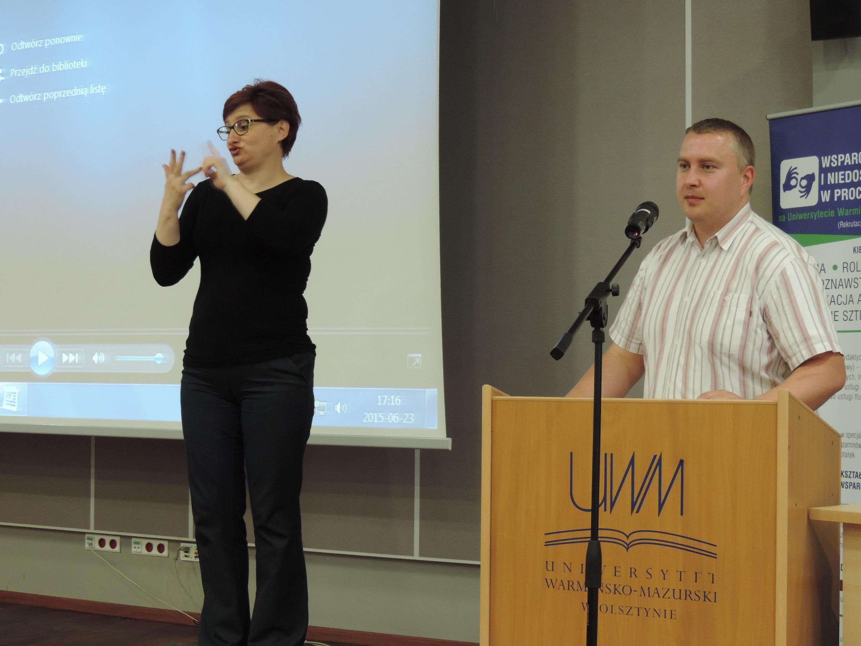 Spotkanie z osobami Głuchymi i słabosłyszącymi