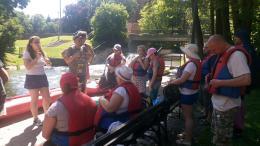 Szkolenie o bezpieczeństwie na wodzie