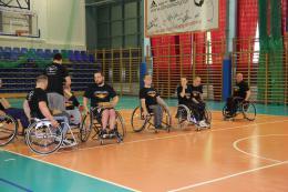 fotorelacja z meczu koszykówki na wózkach