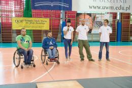III Integracyjny Mecz Koszykówki na Wózkach - pokaz FAR