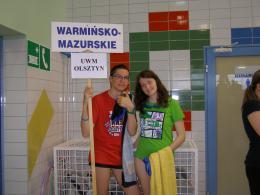 Zawody pływackie. Poznań 2014