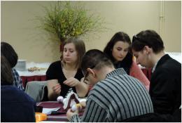 Zdjęcie uczestników spotkania przedświątecznego