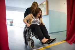 Niepełnosprawni są wśród nas warsztaty na Wydziale Nauk Społecznych