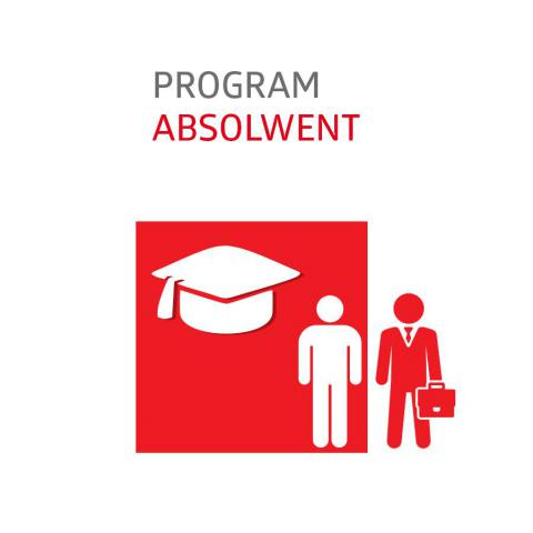 Logo programu Absolwent