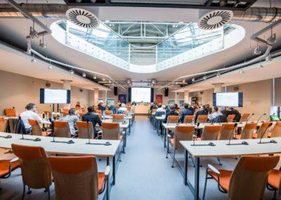 Stara kotłownia sala posiedzeń senatu