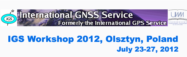 IGS Workshop 2012