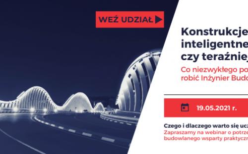 Plakat - zaproszenie na webinar.