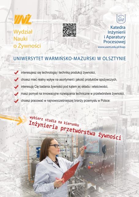 Inżynieria Przetwórstwa Żywności