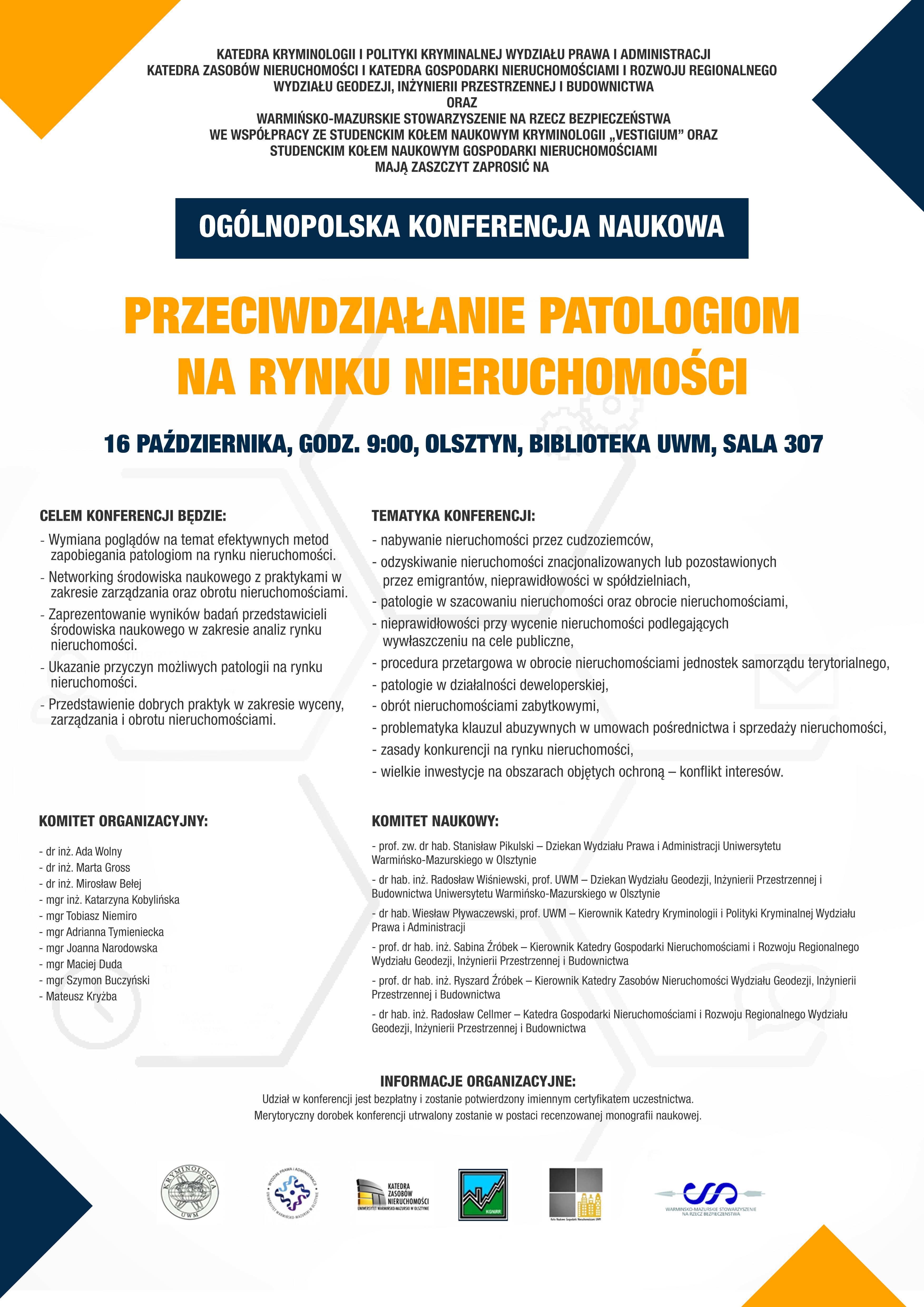 Ogólnopolska Konferencja Naukowa Przeciwdziałanie