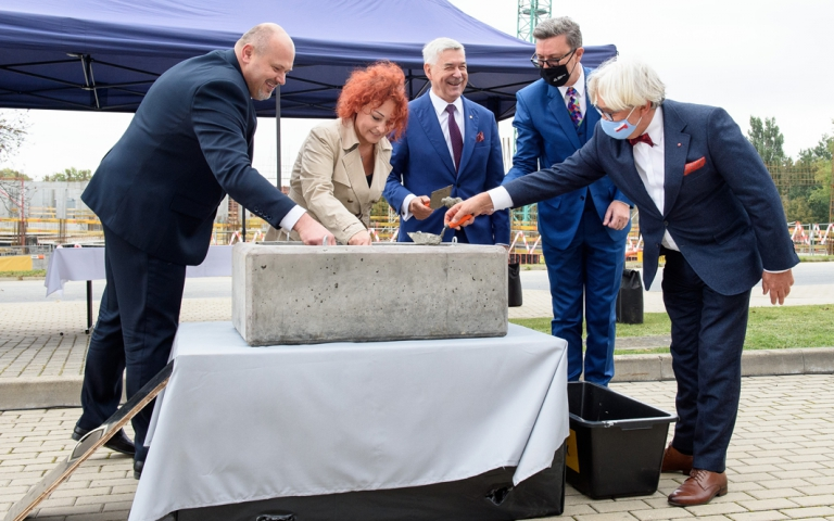 the cornerstone laying ceremony