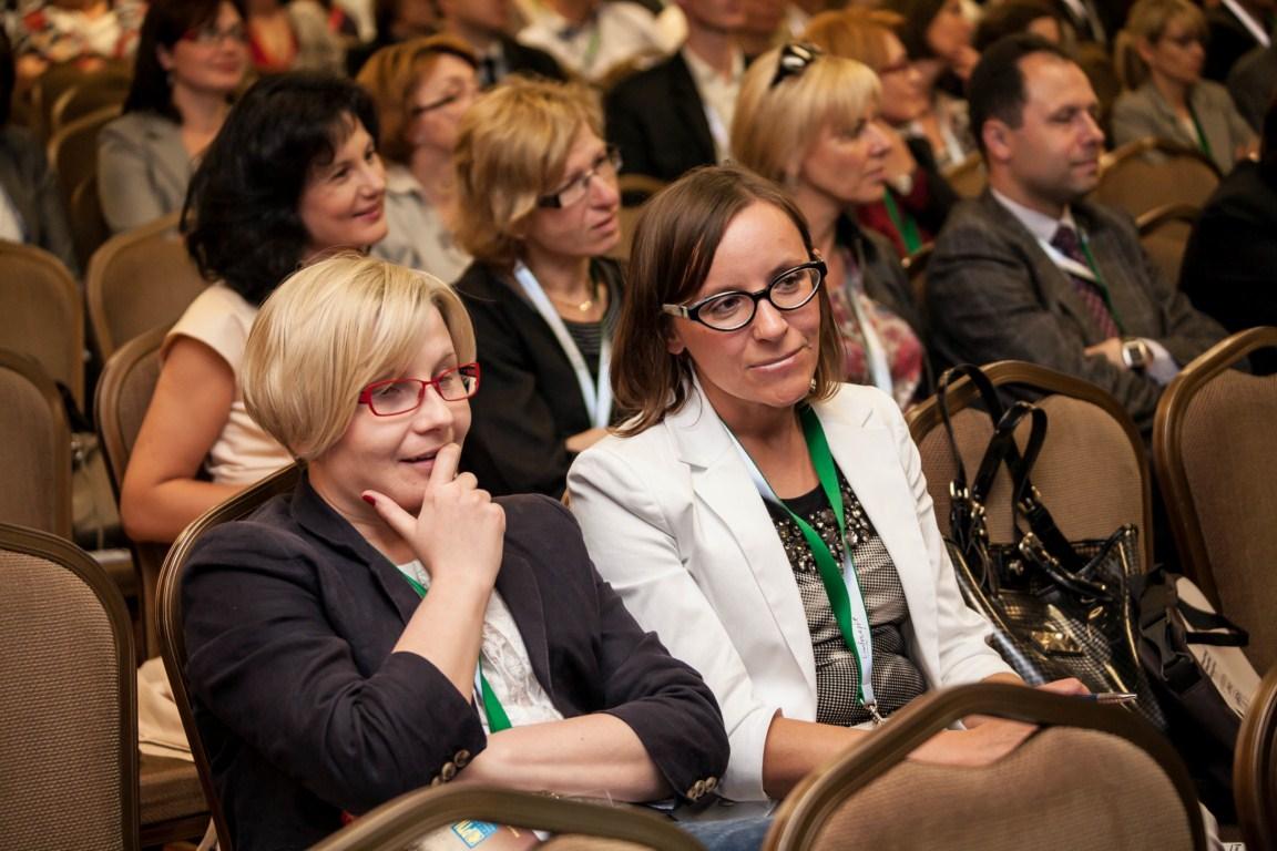 słuchacze konferencji